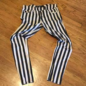 Royal bones stripe jeans